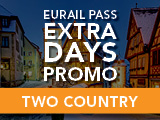 Eurail Extra Days Promotion: Two Country Pass