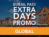Eurail Extra Days Promo: Global Pass